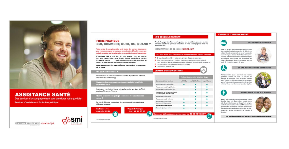 flyer assistance SMI Mutuelle